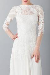 Drexcode - Embroidered wedding dress - Alberta Ferretti - Rent - 5