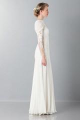 Drexcode - Embroidered wedding dress - Alberta Ferretti - Rent - 4