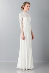 Drexcode - Embroidered wedding dress - Alberta Ferretti - Rent - 3