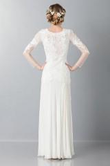 Drexcode - Embroidered wedding dress - Alberta Ferretti - Rent - 2