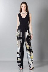 Drexcode - Silk patterned trousers and top - Antonio Berardi - Rent - 6