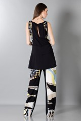 Drexcode - Silk patterned trousers and top - Antonio Berardi - Rent - 2