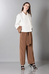 Drexcode - Long sleeve brown jumpsuit - Albino - Rent - 6