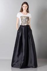Drexcode - Silk loose-fitted skirt - Alberta Ferretti - Rent - 1