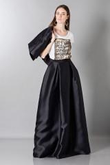 Drexcode - Silk loose-fitted skirt - Alberta Ferretti - Rent - 3