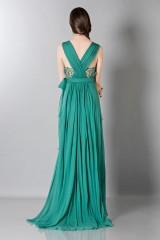 Drexcode - Empire waist silk dress - Alberta Ferretti - Sale - 2