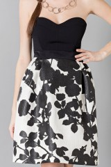 Drexcode - Floreal patterned skirt - Antonio Marras - Sale - 5