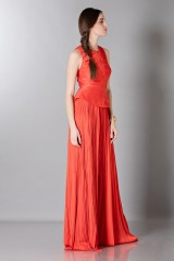 Drexcode - Red dress with back neckline - Maria Lucia Hohan - Rent - 4