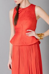 Drexcode - Red dress with back neckline - Maria Lucia Hohan - Rent - 5