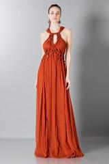 Drexcode - Crepon silk dress - Alberta Ferretti - Rent - 1