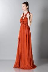 Drexcode - Crepon silk dress - Alberta Ferretti - Rent - 5