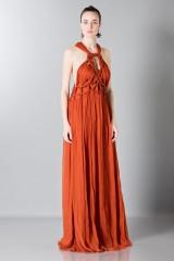 Drexcode - Crepon silk dress - Alberta Ferretti - Rent - 4