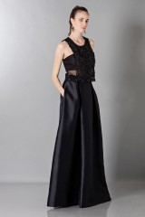 Drexcode - Top with transparencies and sequins - Alberta Ferretti - Rent - 1