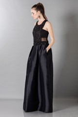 Drexcode - Top with transparencies and sequins - Alberta Ferretti - Rent - 3