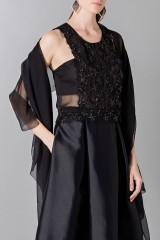 Drexcode - Top with transparencies and sequins - Alberta Ferretti - Rent - 4