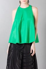Drexcode - Floor-length silk skirt with pattern in contrast - Vionnet - Rent - 5