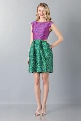 Drexcode - Floreal patterned dress - Monique Lhuillier - Sale - 1