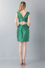 Drexcode -  Floreal patterned dress - Monique Lhuillier - Rent - 2