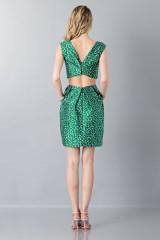 Drexcode - Floreal patterned dress - Monique Lhuillier - Sale - 2