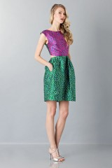 Drexcode -  Floreal patterned dress - Monique Lhuillier - Rent - 4