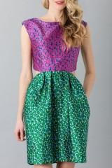 Drexcode - Floreal patterned dress - Monique Lhuillier - Sale - 5