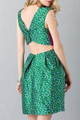 Drexcode - Floreal patterned dress - Monique Lhuillier - Sale - 6