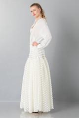 Drexcode - Pop-corn white skirt - Rochas - Rent - 3