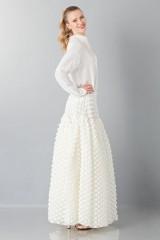 Drexcode - Pop-corn white skirt - Rochas - Rent - 4