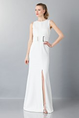 Drexcode - Wedding dress with belt - Antonio Berardi - Rent - 4