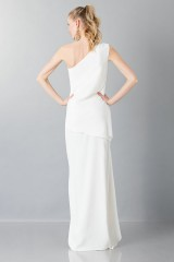 Drexcode -  One-shoulder wedding gown - Vionnet - Rent - 2