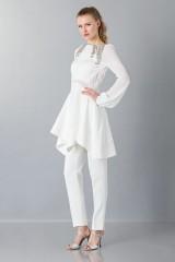 Drexcode - White cady trousers - Antonio Berardi - Rent - 6