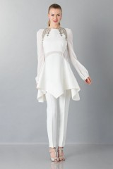 Drexcode - White cady trousers - Antonio Berardi - Rent - 1