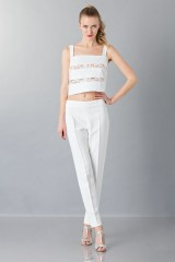 Drexcode - Cotton and lace top - Rochas - Rent - 1