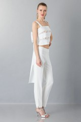 Drexcode - Cotton and lace top - Rochas - Rent - 4