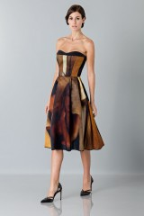Drexcode - Printed bustier dress - Giles - Sale - 3