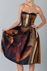 Drexcode - Bustier dress with print - Giles - Rent - 6