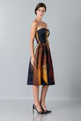 Drexcode - Bustier dress with print - Giles - Rent - 4