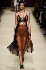 Drexcode - Lace and silk dress - Alberta Ferretti - Sale - 2