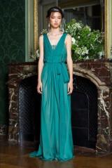 Drexcode - Empire waist silk dress - Alberta Ferretti - Sale - 3