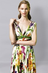 Drexcode - Flower V-neck dress - Ports 1961 - Rent - 4