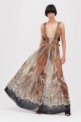 Drexcode - Ethinc floor-length dress - Alberta Ferretti - Sale - 1