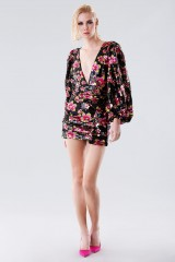 Drexcode - Short dress with flower sequins - For Love and Lemons - Rent - 4
