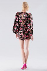 Drexcode - Short dress with flower sequins - For Love and Lemons - Rent - 3