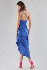 Drexcode - One-shoulder blue dress - Forever unique - Rent - 8