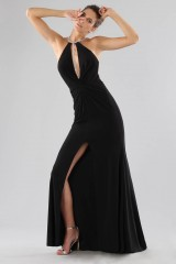 Drexcode - Dress with insert and jewel neck - Forever unique - Rent - 1