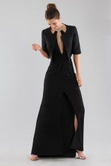 Drexcode - Dress with insert and jewel neck - Forever unique - Rent - 5