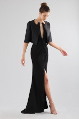 Drexcode - Dress with insert and jewel neck - Forever unique - Rent - 6