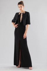 Drexcode - Dress with insert and jewel neck - Forever unique - Rent - 2