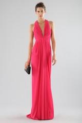 Drexcode - Fuchsia V-neck dress - Forever unique - Rent - 1
