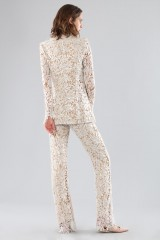 Drexcode - Ivory lace suit with sequins - Forever unique - Sale - 4